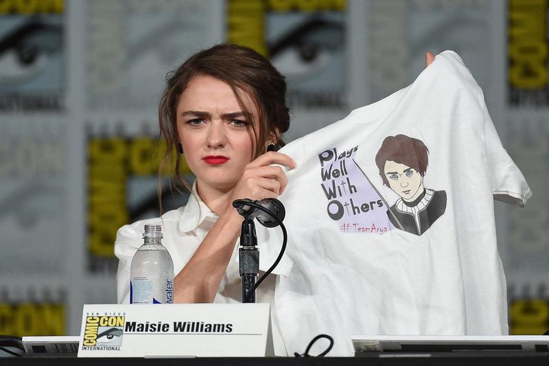 Maisie Williams at Comic-Con 2015