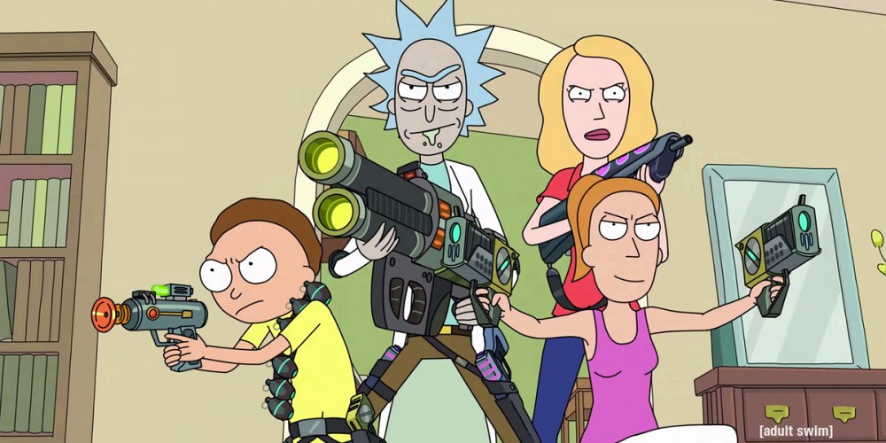 justin-roiland-sarah-chalke-and-spencer-grammer-rick-and-morty-season-2